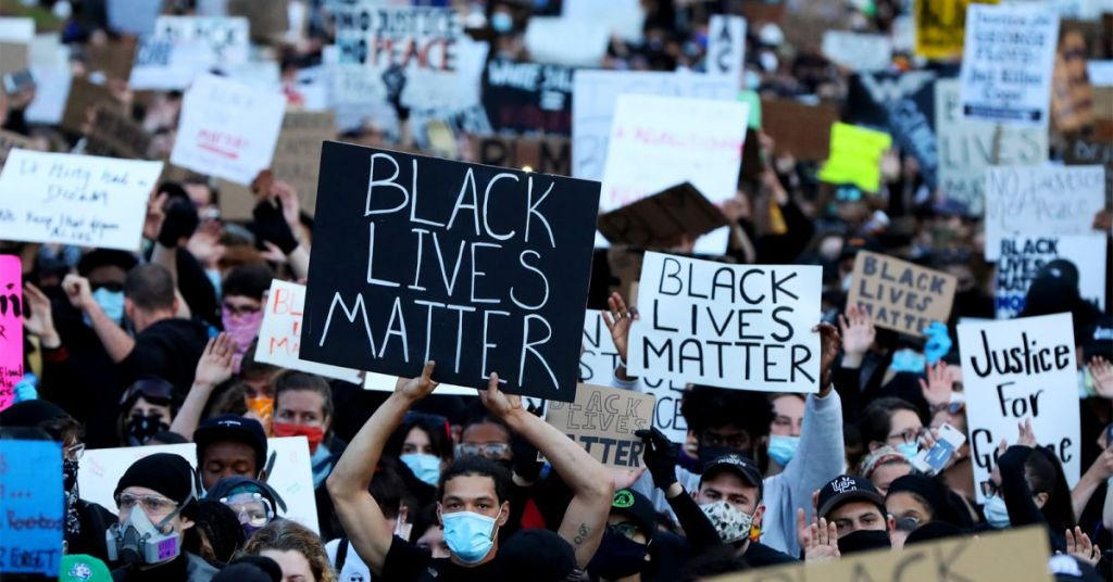 Watch: BLM Switch Sides On Vaccine Stance