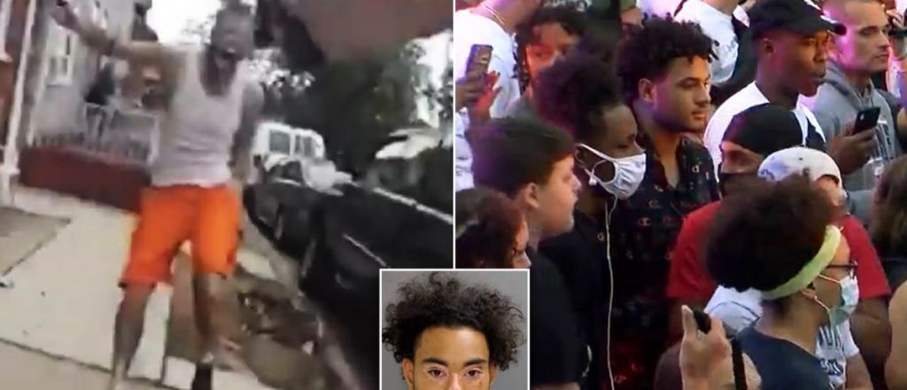 BLM Riots, Pennsylvania: Officer Shoots 'Charging Black Man With Knife', BLM Tears Up Town