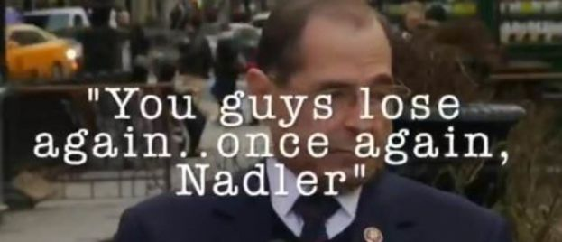 """OMG! """"Loser"""" Nadler Is Heckled By Trump Supporter After Failed Coup Attempt AND IT'S GLORIOUS! (VIDEO)"""