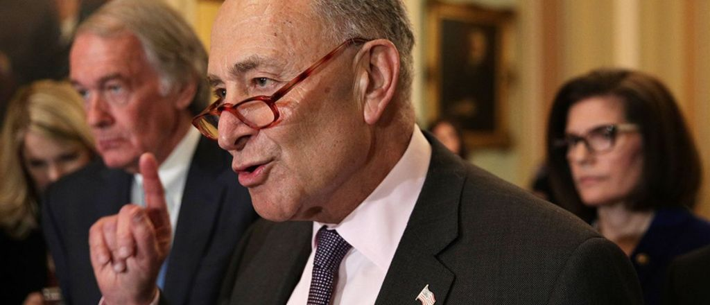 SCOTUS Confirmation: Chuck Schumer Says Democrats Will 'Do Anything' To Stop