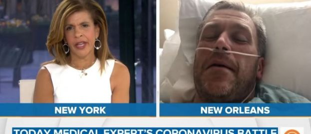 WOW! NBC Guest Doctor Who Was Suffering from Coronavirus in Hospital in TV Interviews — NEVER HAD CORONAVIRUS! (VIDEO)