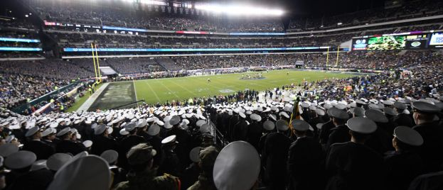 Military Investigating Cadets Who Used Alleged 'White Power' Symbol During Army-Navy Game